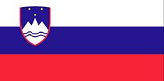 Slovenia : للبلاد العلم