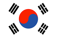 South Korea : Zemlje zastava