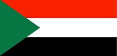 Sudan : Šalies vėliava