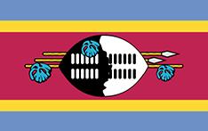 Swaziland : Šalies vėliava