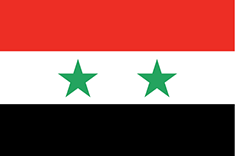 Syria : Šalies vėliava