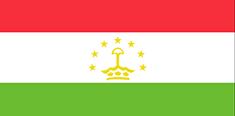Tajikistan : Šalies vėliava