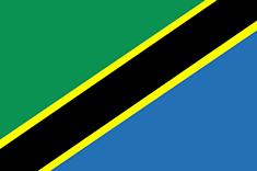 Tanzania : Šalies vėliava