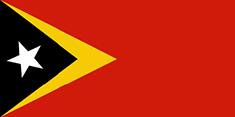 Timor-Leste : Šalies vėliava