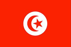 Tunisia : Šalies vėliava