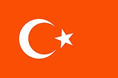 Turkey : Šalies vėliava
