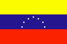 Venezuela : Šalies vėliava