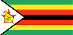 Zimbabwe : Šalies vėliava