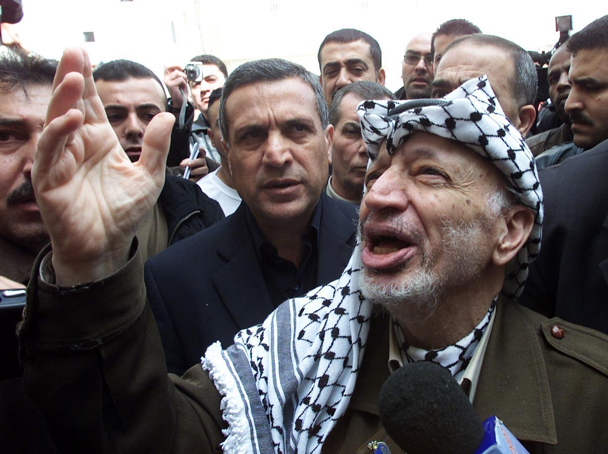 ABOUT YASSER ARAFAT