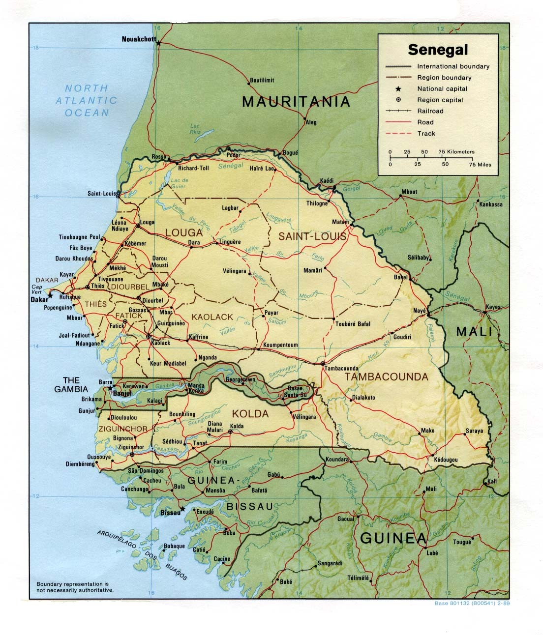 Senegal - General Information