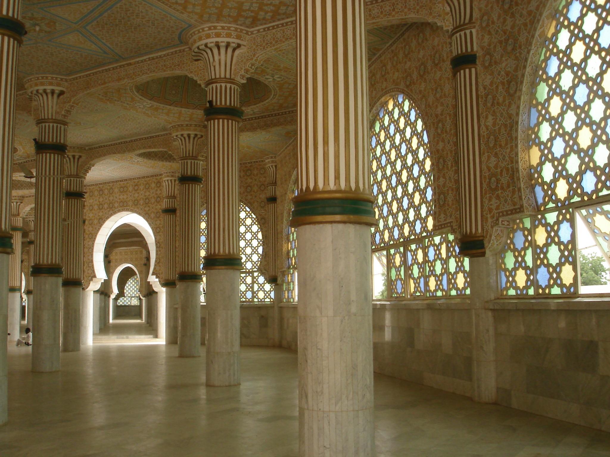 bamba : Mosquée de Touba
