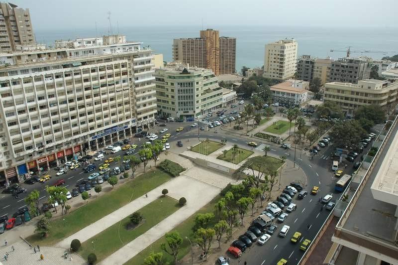 Place de l'indépendance - Dakar