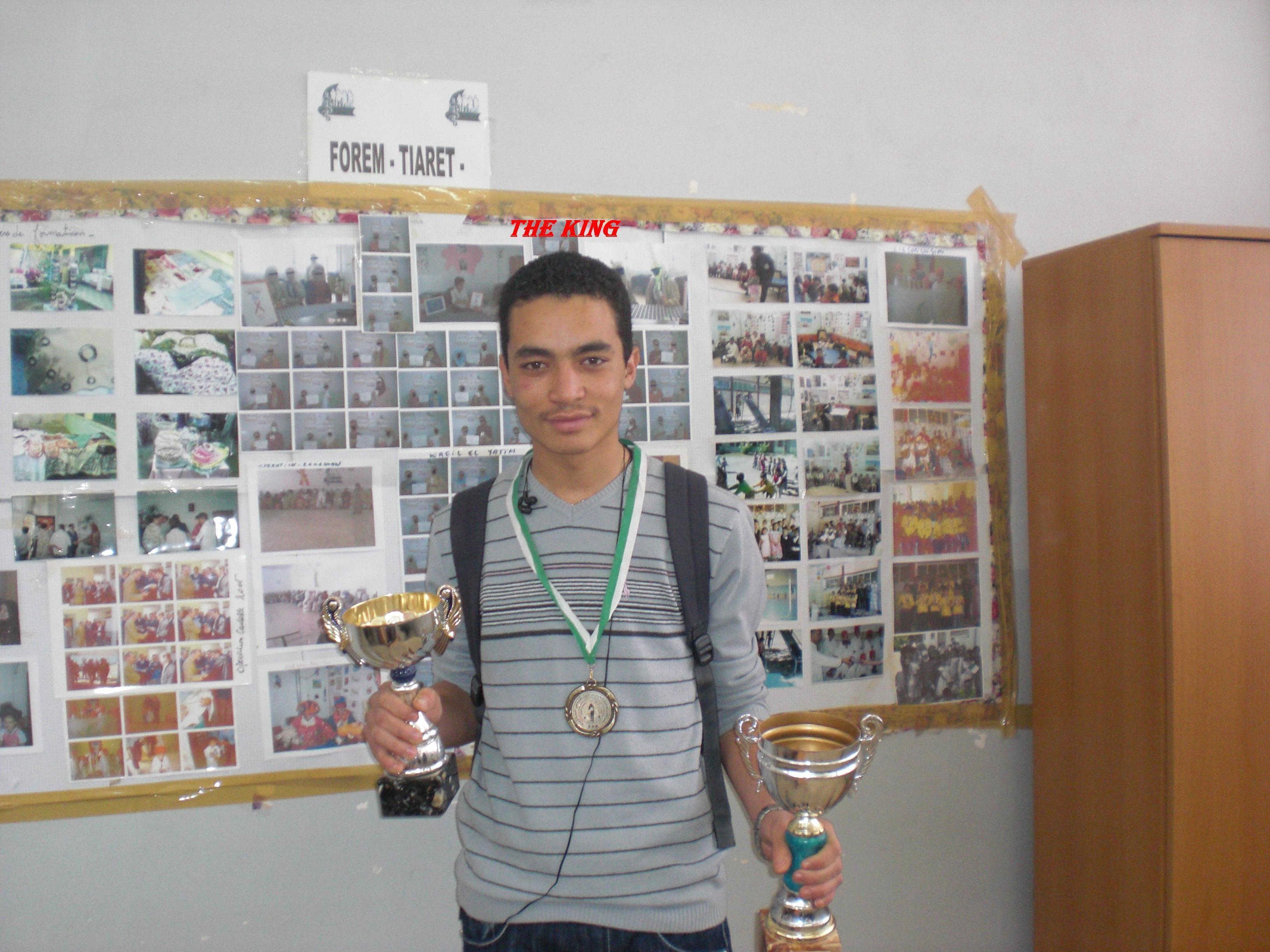 boxeur algerien  the king djamel dahou