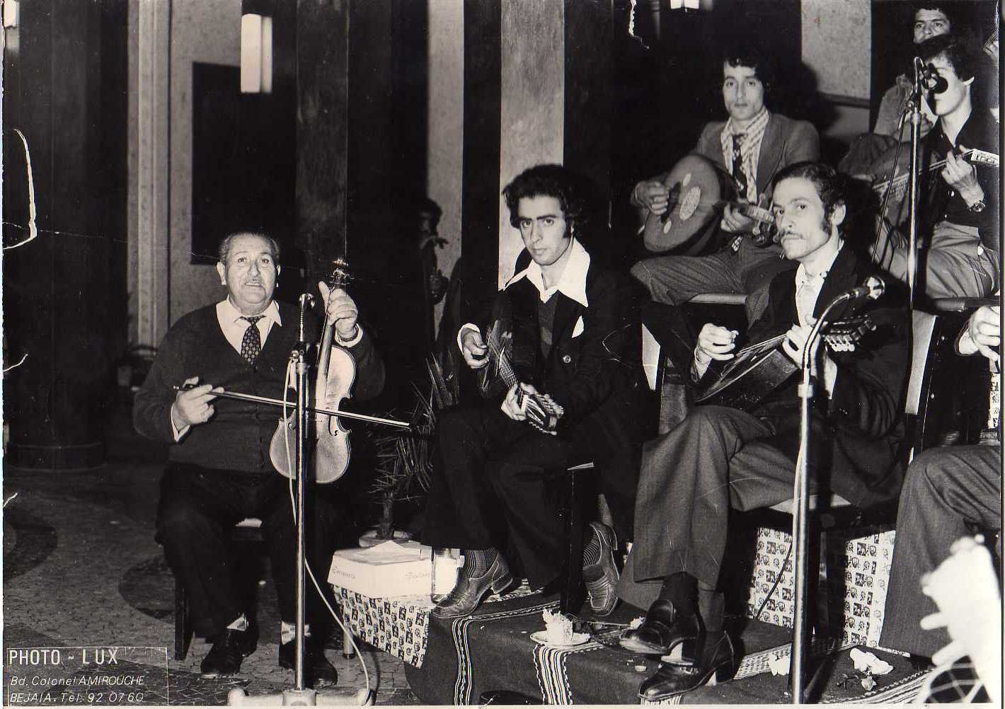 chikh_mouhamed : reception fevrier 1977 (theatre de bejaia)