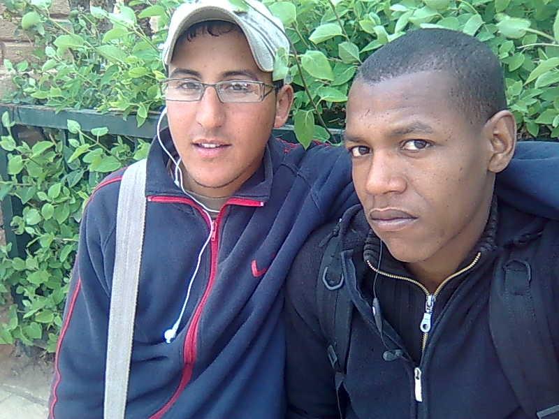 ci moi et mon ami Abde sadak