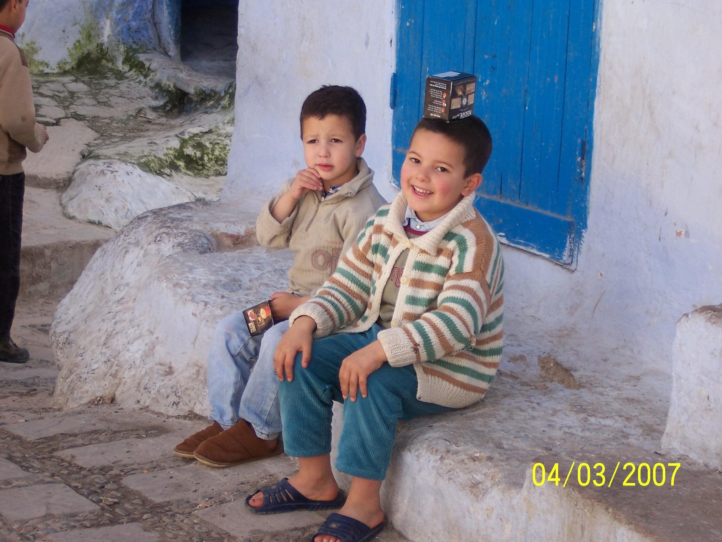 mouden : kids of chefchaouen