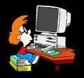 Booba Over Computer