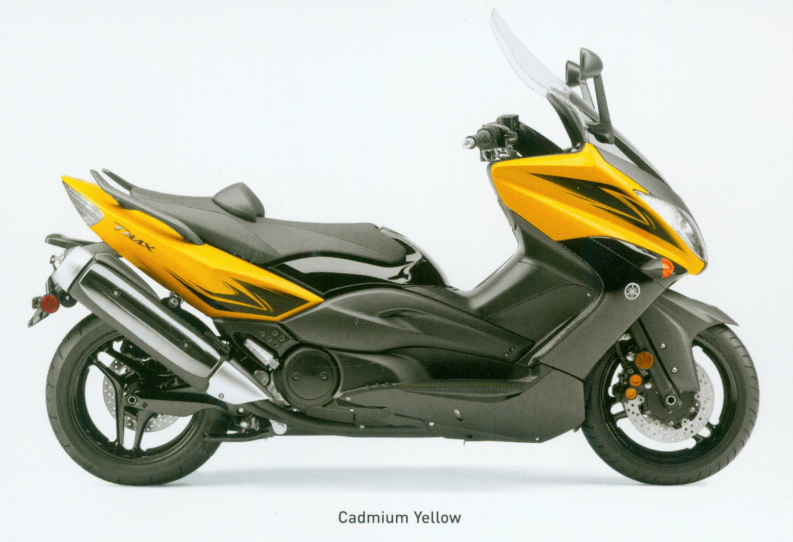 Yellow TMAX Yamaha