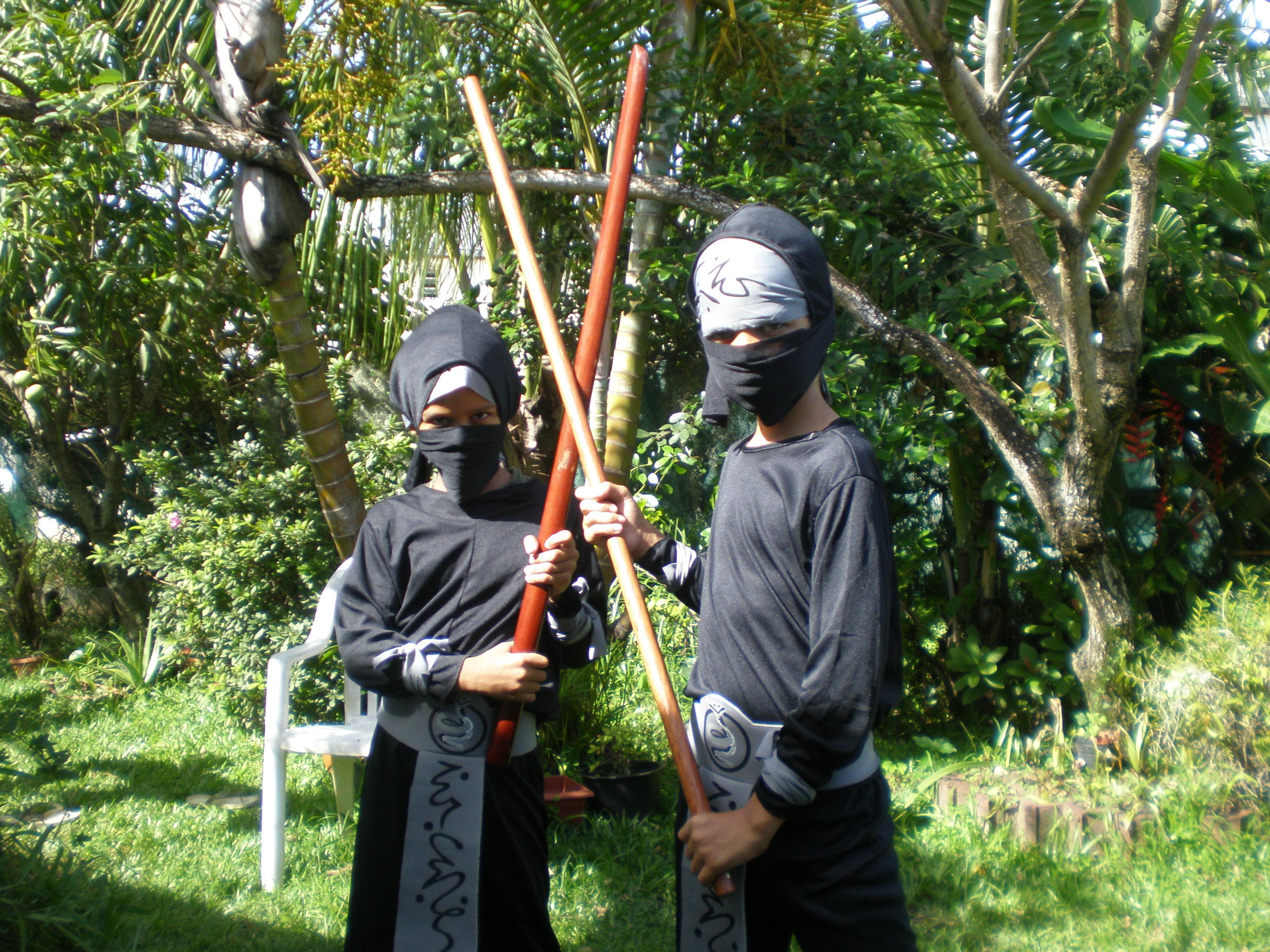 ninjas de la Réunion