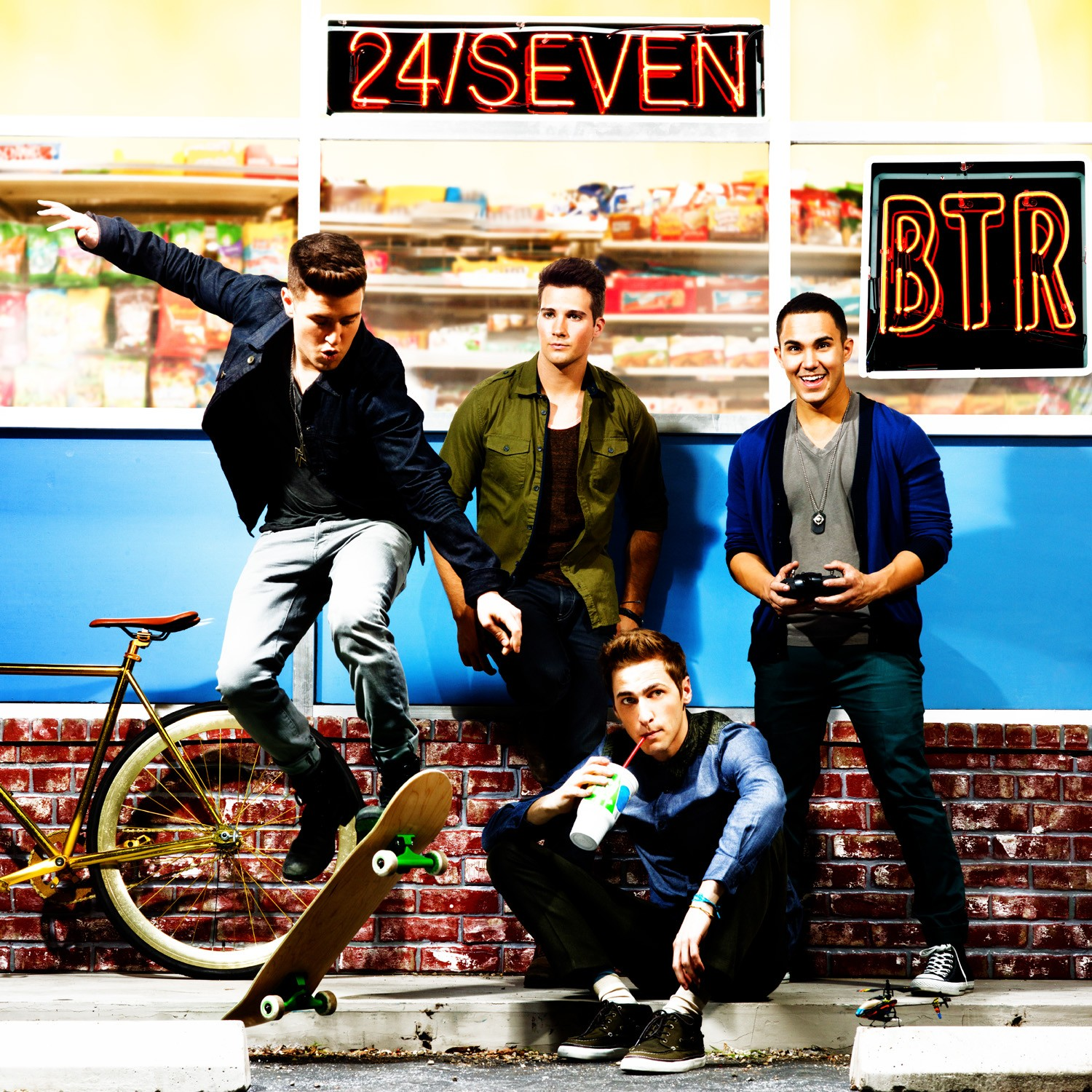 Big Time Rush » Big Time Rush/24/seven cd cover