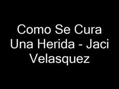 Watch jaci velasquez como se cura una herida letra mp4 video for free , , video hd: jaci velasquez como se cura una