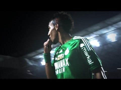 Aubameyang ► Saint Etienne Showman | 2013 HD ● Mini-Edit