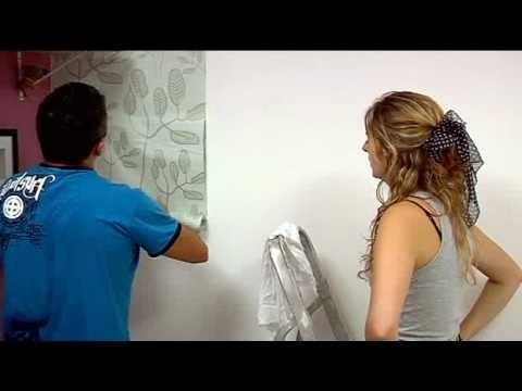 Como instalar papel de parede. Aprenda aqui