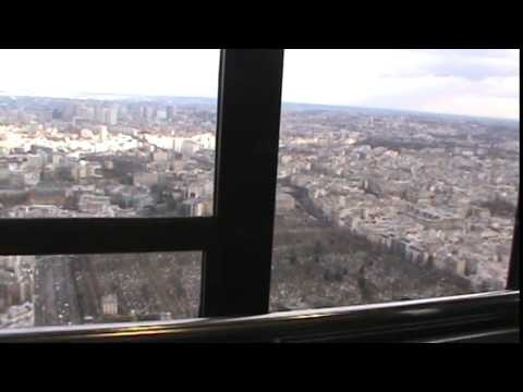 The Incredible view of PARIS fromTour Montparnasse