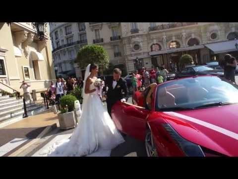 Boda en el Casino de Monte Carlo