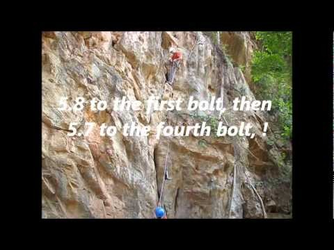 Myanmar Rock Climbing BOLTING by TCCM