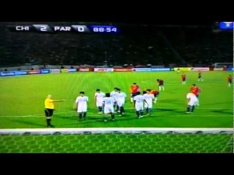 Chile vs Paraguay (2-0) Eliminatorias Brasil 2014, 13 ultimos mejores minut