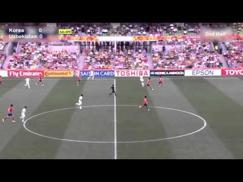 Korea vs Uzbekistan|2nd half| AFC Asian Cup 2015