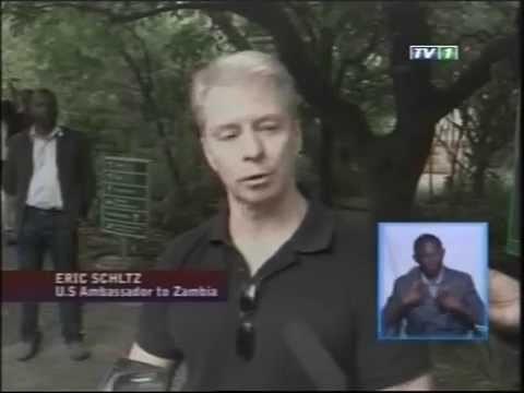 Ambassador Eric Schultz Urges Protection of Zambia's Wildlife
