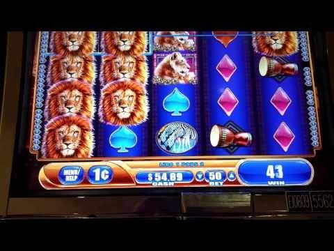 King of Africa slot machine at Parx casino