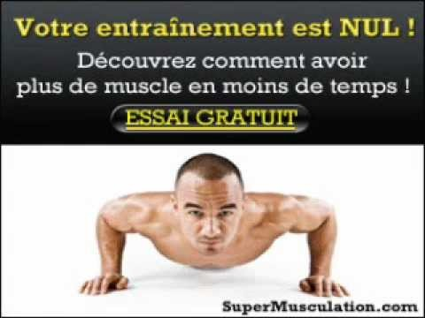 Comment prendre des muscles rapidement